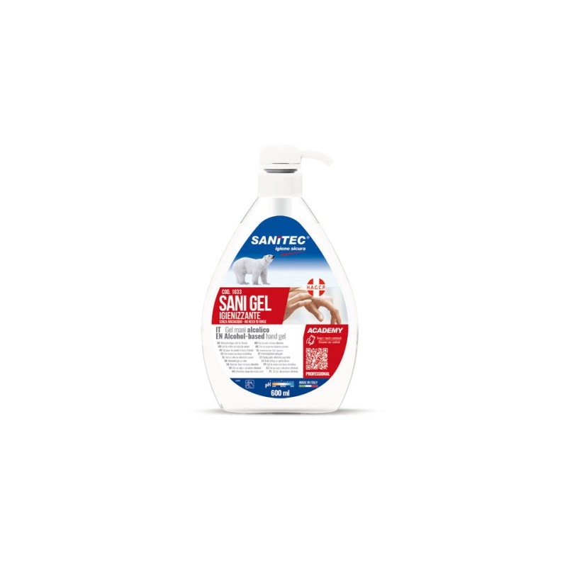 GEL  DETERGENTE SANI GEL 600ML SANITEC
