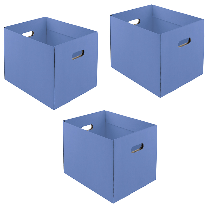 Large Cardboard Trays - Set of 3