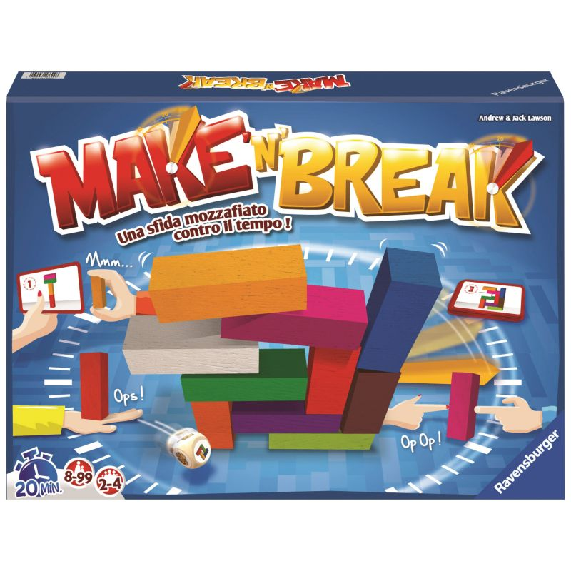 GIOCHI DI SOCIETA':MAKE'N'BREAK