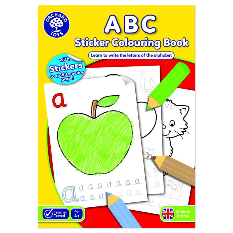 ALBUM DA COLORARE - ABC (IN INGLESE)